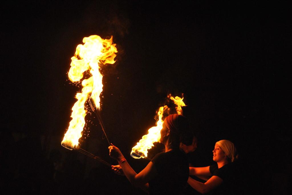 Oda nesomnului - privind in foc