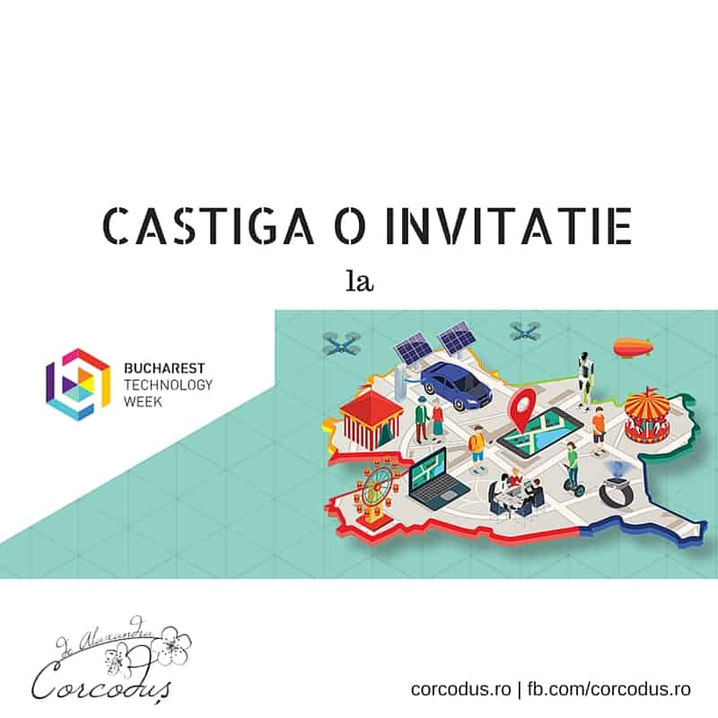 Bucharest Tech Week - Corcodus Castiga o invitatie